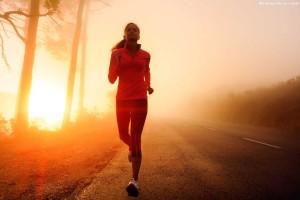 Running-Exercise-Sunrise