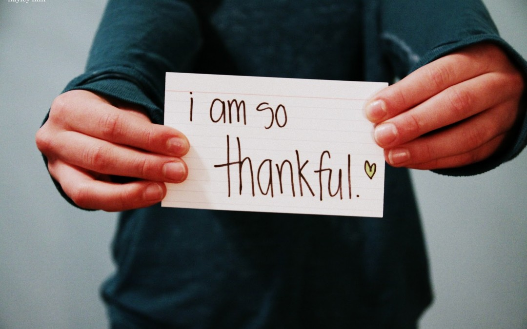 How Winning is Done: Be Thankful Over the Few